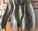 Мото куртка кожаная дайнес