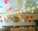 Сердца и шаров. Украшения свадьбы шарами