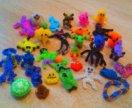 Игрушки из резинок для плетения.