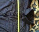 Рубашка чёрная с люриксовой полоской едва заметной