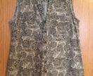 Льняная блуза 46 размера