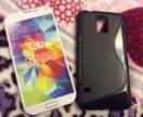 Силиконовый чехол на Samsung Galaxy S5