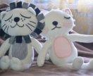 Игрушка Лев и кот от kawaii