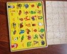 Пазлы-Алфавит, увлекательная игра