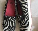 Слипоны Geox by Patrick Cox, 40, туфли женские
