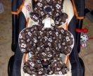 Автолюлька с вкладышом для новорождённых