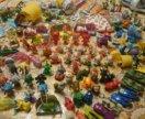 Игрушки из киндеров и растишки
