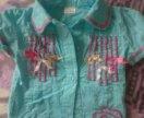 Блузка и кофточка для девочки