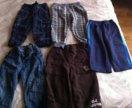 Брюки джинсы пакетом 86-92