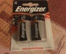 Батарейки Energizer С