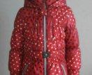 Пальто на девочку фирмы Duwali,рост 128-134