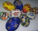 Пасхальные яица из бисера