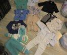 Пакет вещей на мальчика 0-2г