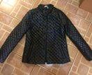 Куртка стёганая с бусинами