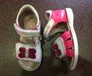Фирменные кожаные сандали(босоножки, туфли летние)