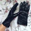 Перчатки кожаные Accessorize лаковая кожа