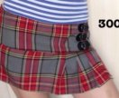 """мини-юбки """"шотландки"""""""