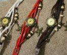 Часы с подвеской морской звездой