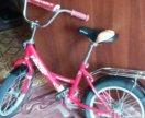 велосипед кра сный  до 7 лет