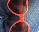 Солнечные очки сердечки