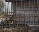 Металическая решетка( Ворота)