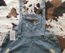 Комбинезон новый джинсовый. Размер 40 (54-58)