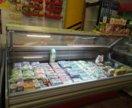 Витрина холодильная торговая под колбасу 0+7 бу