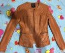 Кожаная куртка INCITY