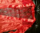 Новый халат шелк атлас
