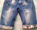 шорты джинсовые р-р 32