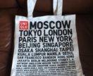 Новая холщовая сумка uniqlo