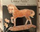 Кристальные пазлы crystal puzzle лошадь