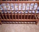 Кроватка детская , в хорошем состоянии
