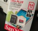 Карта памяти SanDisk MICRO SDXC ULTRA PLUS