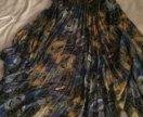 Красивое пышное платье в пол