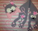 Шапка+ шарф 48/50 новые набор Мышка
