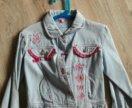 """Куртка для девочки """"Маленькая фея"""" рост 122."""