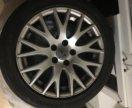 Диски оригинальные r17 Audi