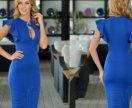 Продаю красивое синее платье