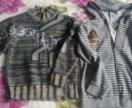 Кофта и свитер на 7-9 лет