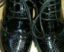 Новые туфли оксфорды