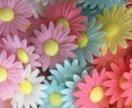 Вафельные цветы в ассортименте