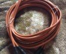 Межблочный кабель 2RCA на 2RSA 5 метров