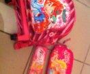 Рюкзак на колесиках Winx