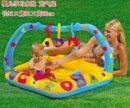 Детский бассейн с надувной дугой