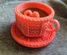 Мыло чашечка