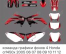 Наклейки на Honda CRF450X