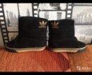 Вельветовые сапожки adidas