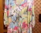Легкая блуза размер 64-66