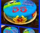 Фигурки на торт из мастики или торт на праздник